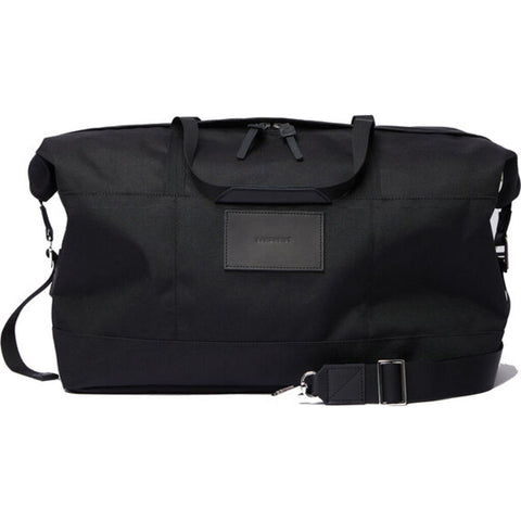 Sandqvist Milton Weekend Bag | Black/Black Leather