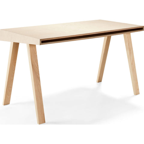 EMKO 4.9 Desk w/ 2 Drawers | European Ash-4.9LEASH