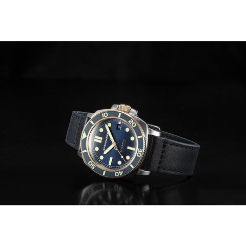 Spinnaker Hull SP-5088-05 Automatic Watch | Dark Blue/Dark Blue