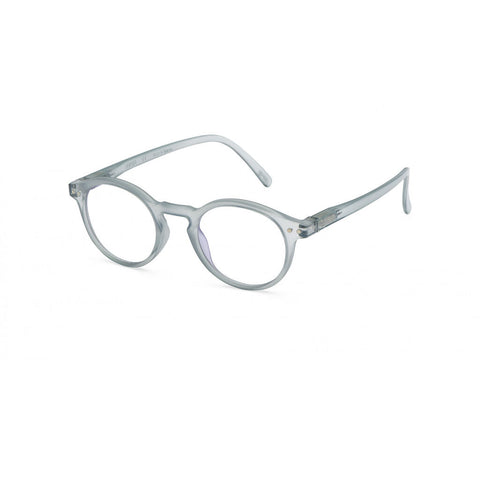 Izipizi Screen Glasses H-Frame | Frosted Blue