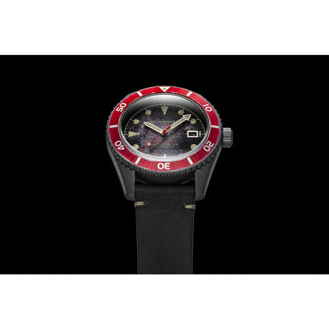 Spinnaker Wreck SP-5089-01 Automatic Watch | Black/Black