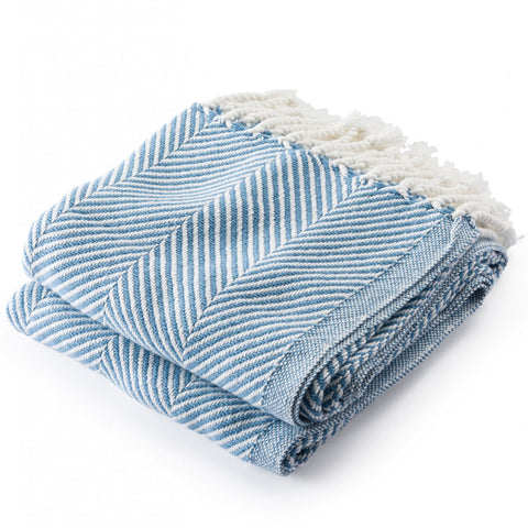 Brahms Mount Monhegan Cotton Throw