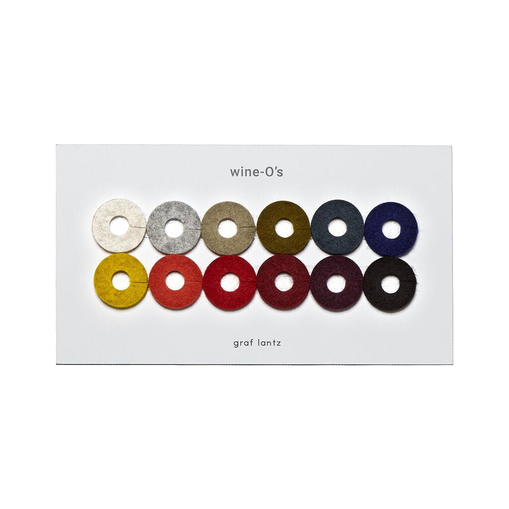 Graf Lantz 12 Wine-O's Mix Set | Wool Autumn