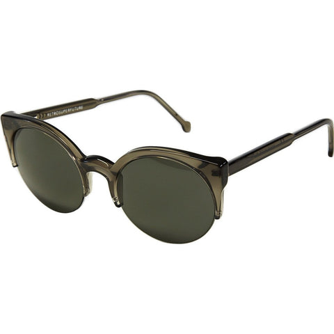RetroSuperFuture Lucia Sunglasses | Deep Black 413