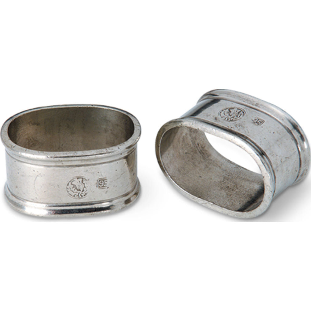 Match Oval Napkin Ring | Set of 2