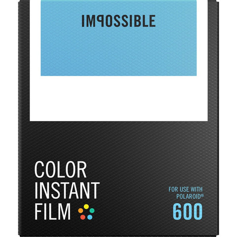 Impossible Project 600 White Frame Film | Color 4514