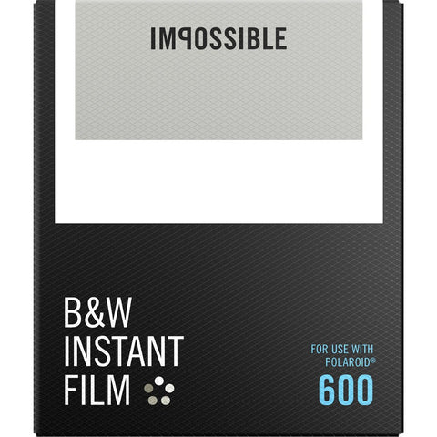 Impossible Project 600 White Frame Film | B&W 4516