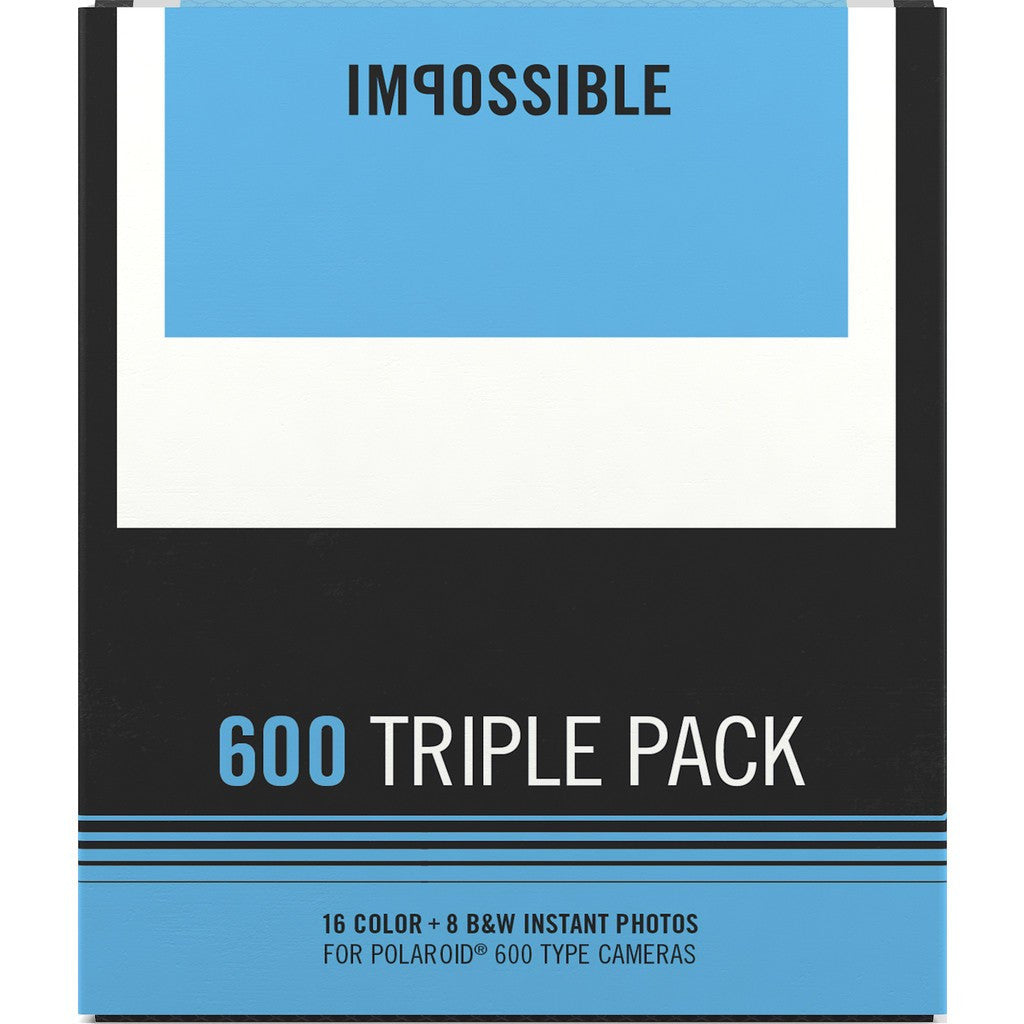 Kitchen Impossible Updates: Impossible Project 600 Triple Pack Film