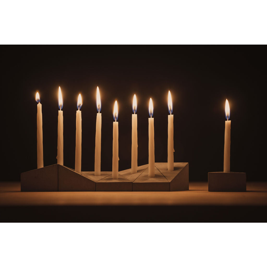 Logifaces Concrete Menorah