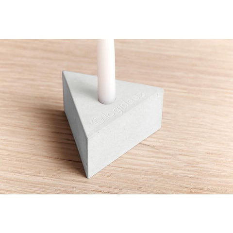 Logifaces Concrete Menorah Puzzle | White