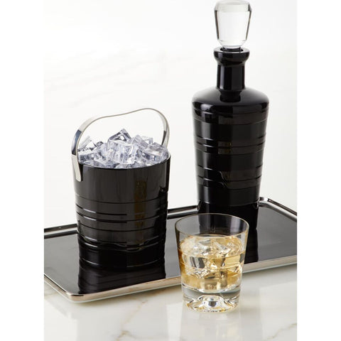 Vista Alegre Vinyl Black Ice Bucket