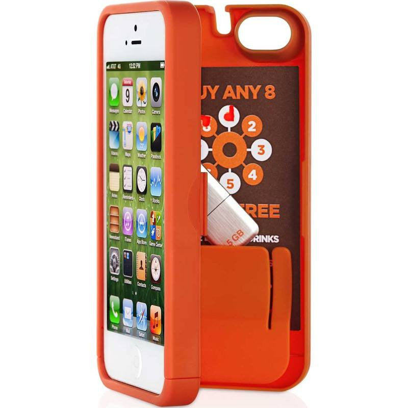 EYN iPhone 4/4s Wallet Case | Orange