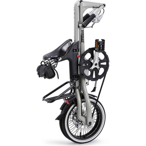 STRiDA 5.0 Folding Bicycle | Silver ST1610-1-MI
