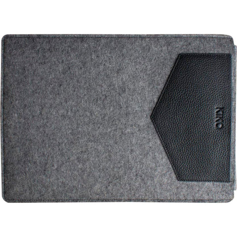 Kiko Leather 13 MacBook Tuck Away Sleeve | Black 500