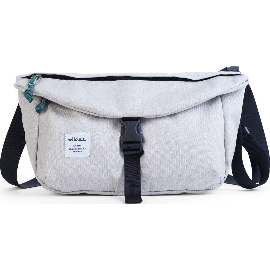 Hellolulu Duff Messenger Bag | Grey HLL-50109-GRY