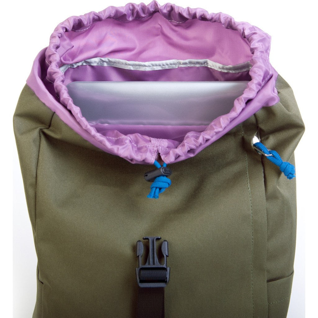 Hellolulu Sutton Drawstring Backpack | Olive HLL-50110-OLV