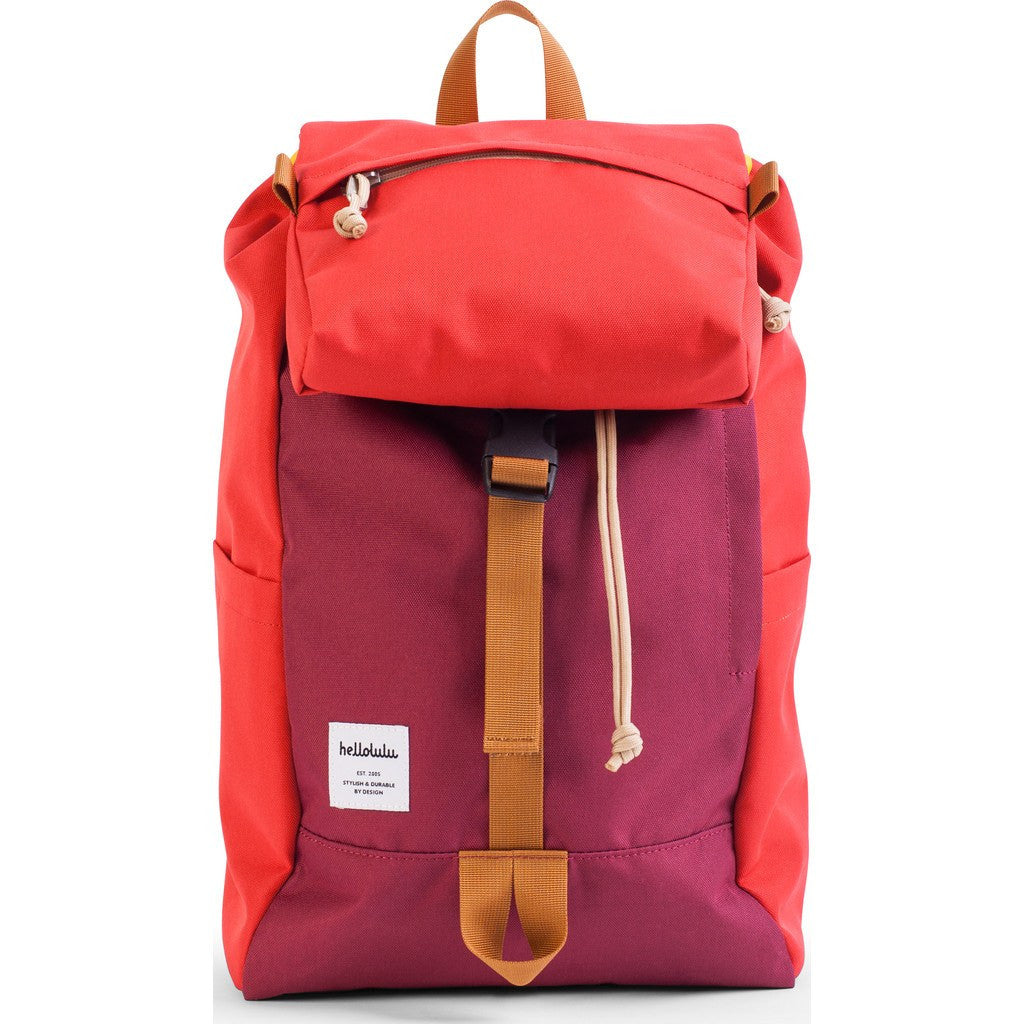 Hellolulu Sutton Drawstring Backpack | Burgundy/Red HLL-50110-BRG