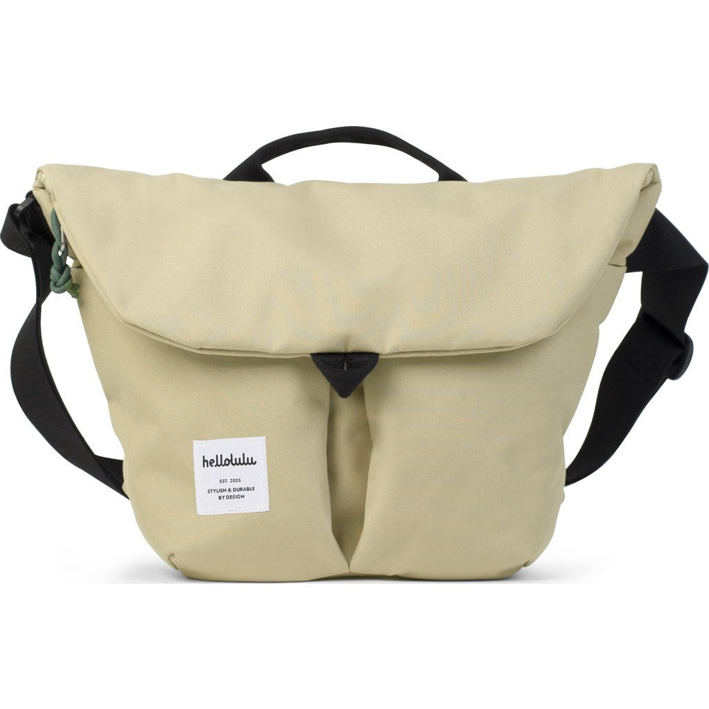 Hellolulu Kasen Shoulder Bag | Almond HLL-50124-ALM