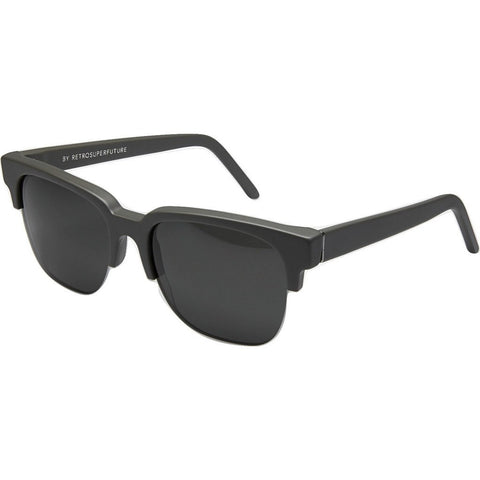 RetroSuperFuture People Sunglasses | Dark Grey/Crystal Matte 501