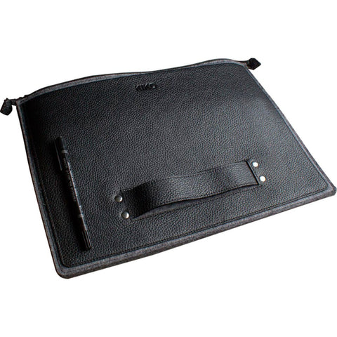 Kiko Leather 13 Macbook Go Case | Black 507