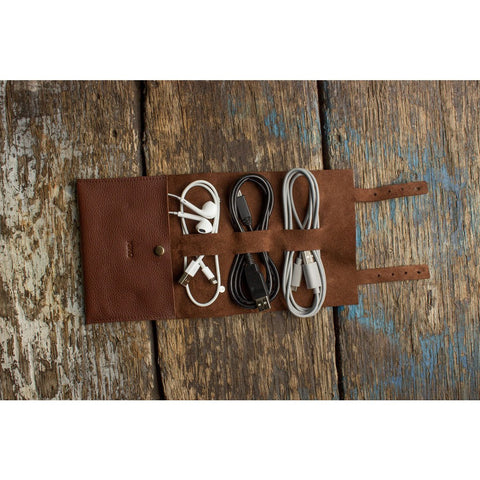 Kiko Leather Cord Wrap | Brown 516brwn