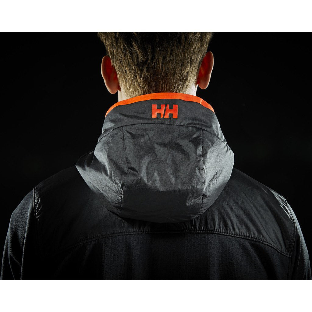 Helly Hansen Men's ULLR Midlayer Fleece Jacket | Black M 51757_990-M