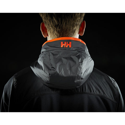 Helly Hansen Men's ULLR Midlayer Fleece Jacket | Black S 51757_990-S