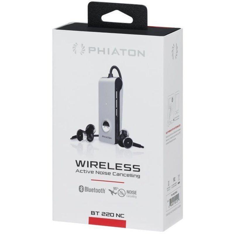 Phiaton Wireless Active Noise Cancelling Earphones | BT 220 NC