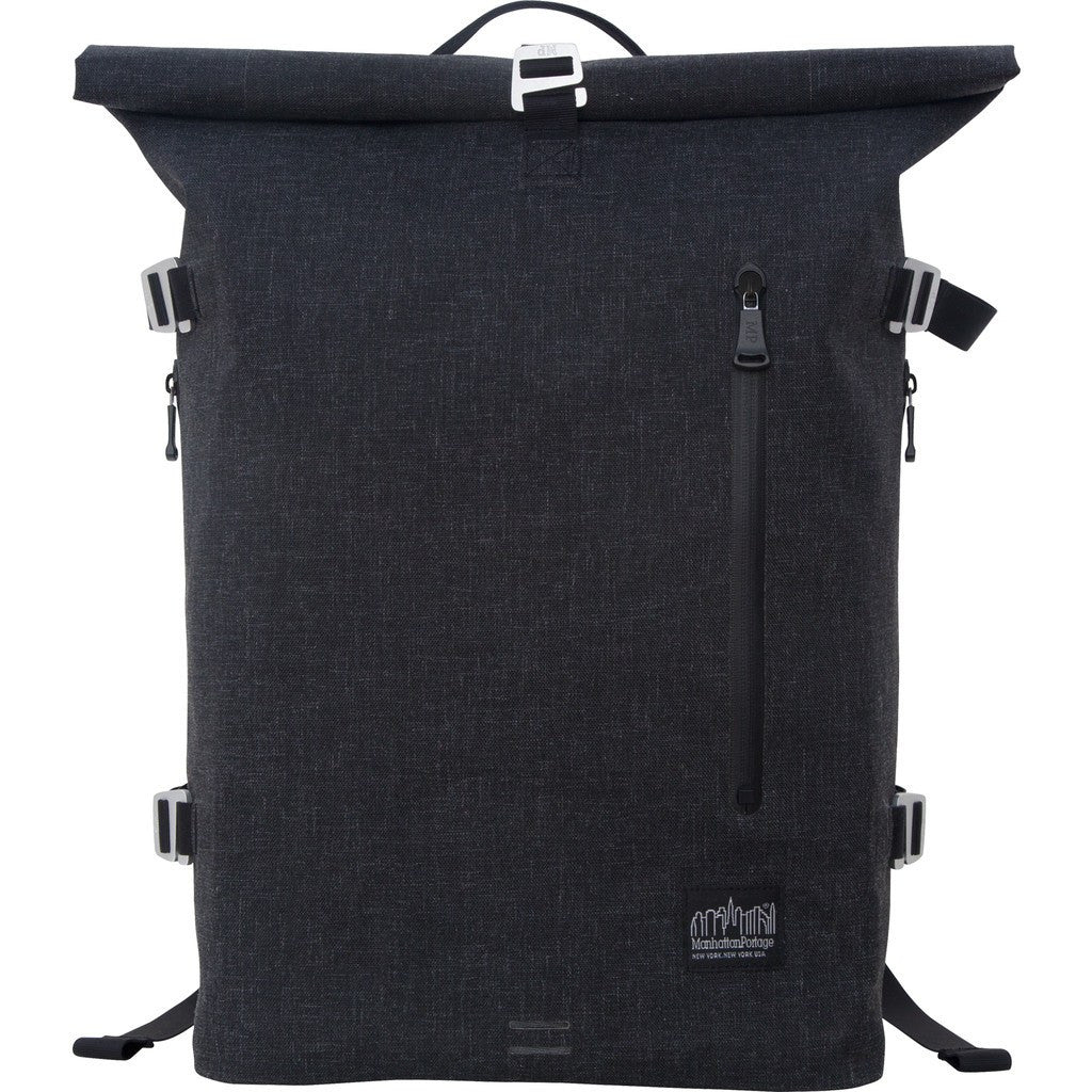 Manhattan Portage Large Harbor Backpack | Black 5210-BL BLK / Dark Brown 5210-BL DBR