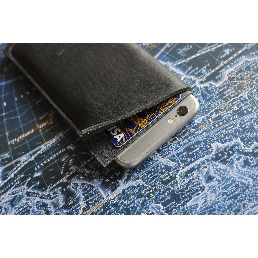 Kiko Leather iPhone 6/6s Plus Wrap | Black 522