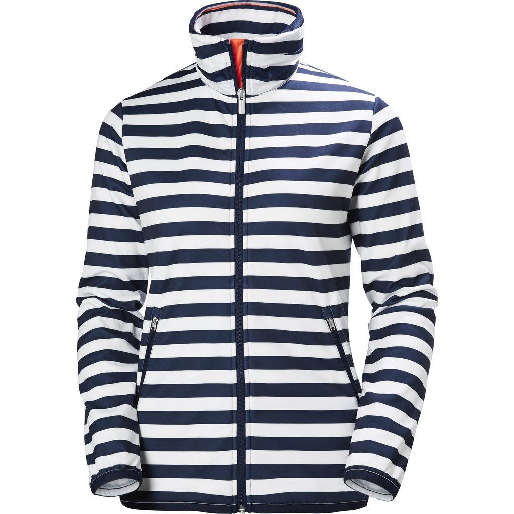 Helly Hansen Women's Naiad Fleece Jacket | Evening Blue Stripe Size S  53035_690-S ...