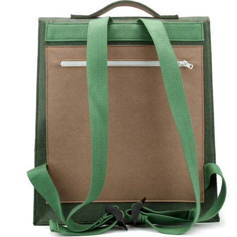M.R.K.T. Mateo Backpack | Midnight Green/Teak 534042D