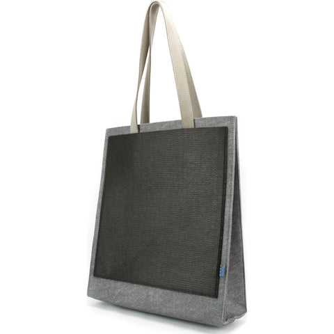 M.R.K.T. Clark Tote Bag | Elephant Grey/Black 546920D