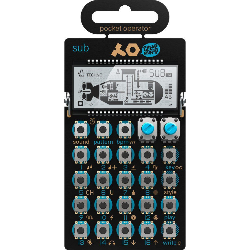 Teenage Engineering PO-14 Sub Pocket Music Operator Blue