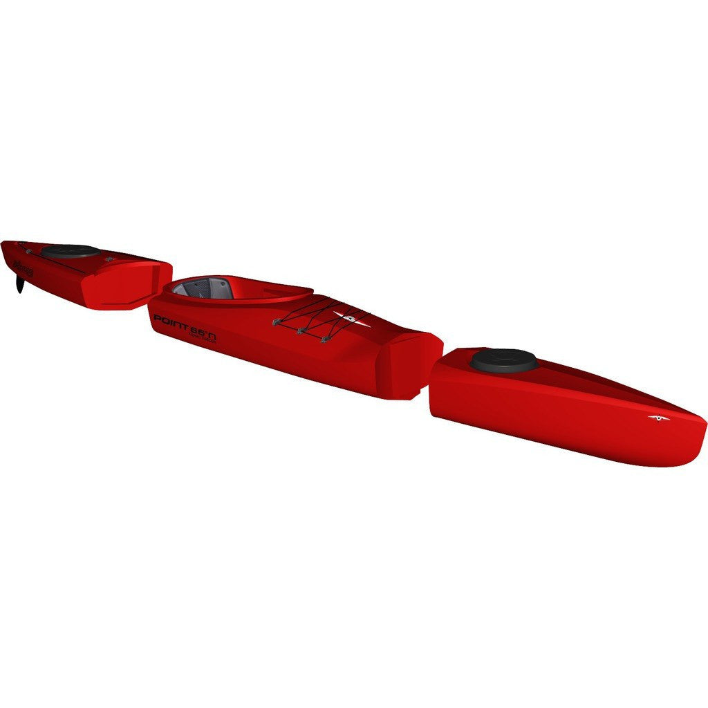 Point 65 Mercury GTX Modular Kayak Back Section | Red 24