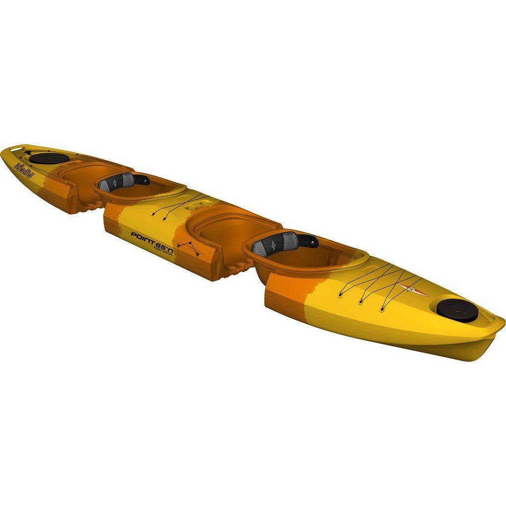 Point 65 Martini GTX Modular Tandem Kayak | Yellow/Orange