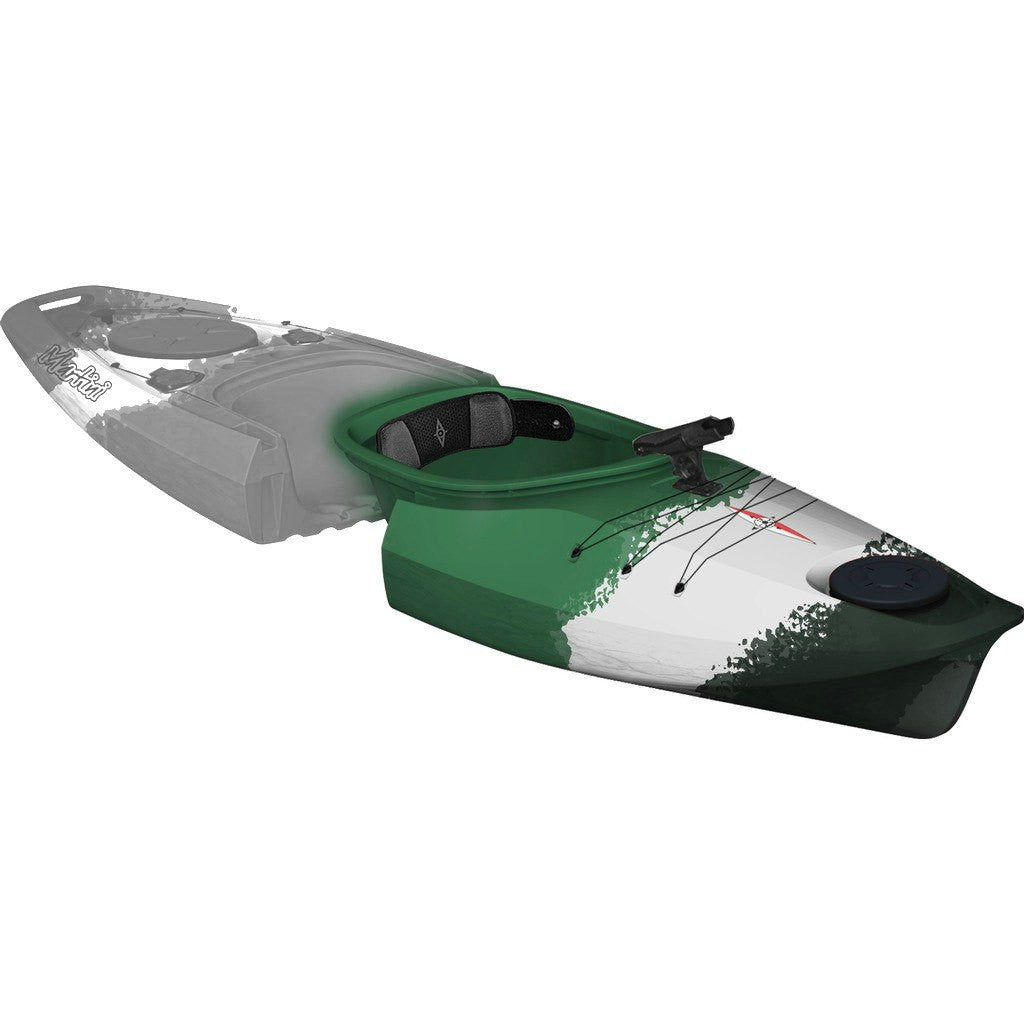 Point 65 Martini GTX Angler Modular Kayak Front Section | Green Camo