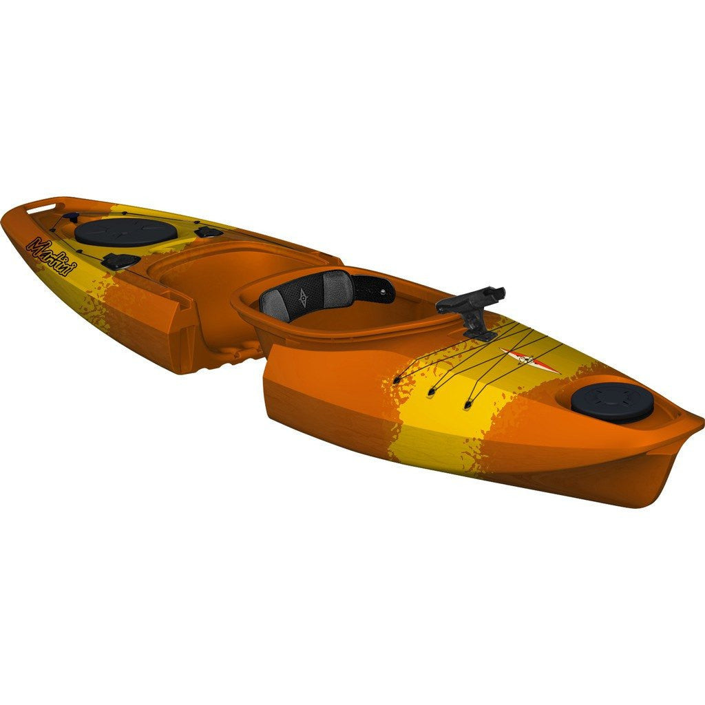 Point 65 Martini GTX Angler Modular Solo Kayak | Yellow/Orange