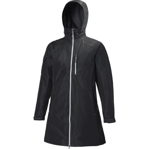 Helly Hansen Women's Long Belfast Jacket | Black Size S 55964_990-S