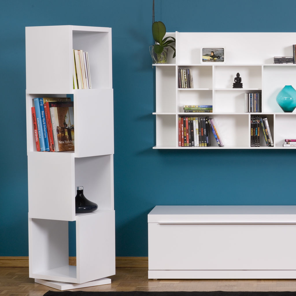 TemaHome Shell 003 Rotating Shelving Unit Pure White - Sportique