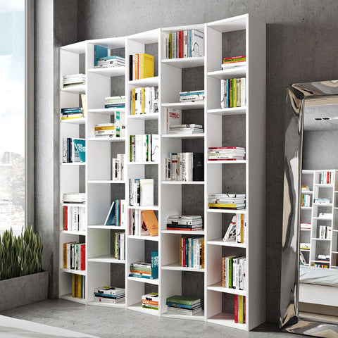 TemaHome Valsa 004 Composition Bookcase | Pure White 9500.3165