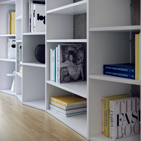 TemaHome Valsa 005 Composition Bookcase | Pure White 9500.316609