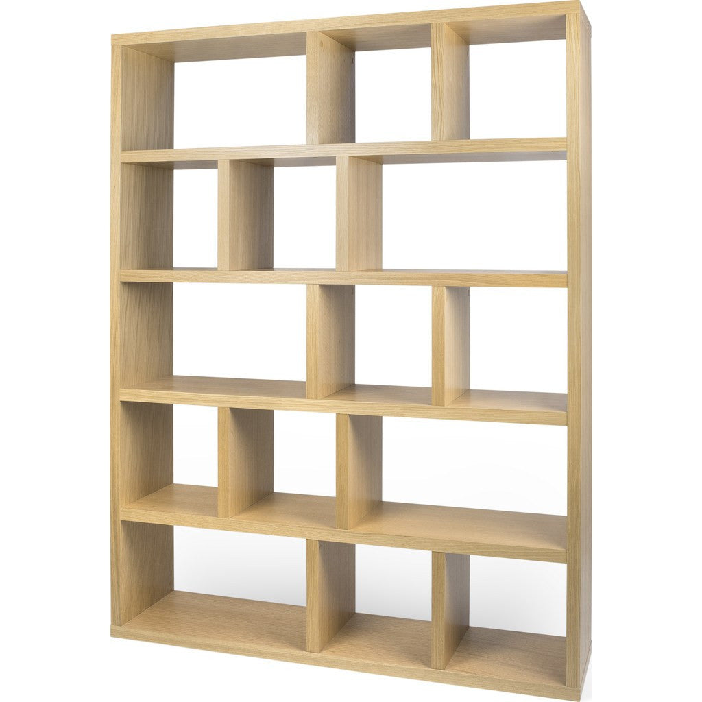 TemaHome Berlin 5 Levels Bookcase 150 Cm | Oak 118999-BERLIN5150
