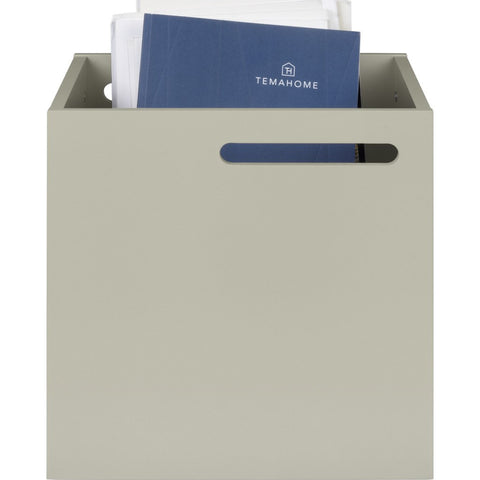 TemaHome Berlin Box Storage Boxes | Light Grey 118999-BERLINBOX