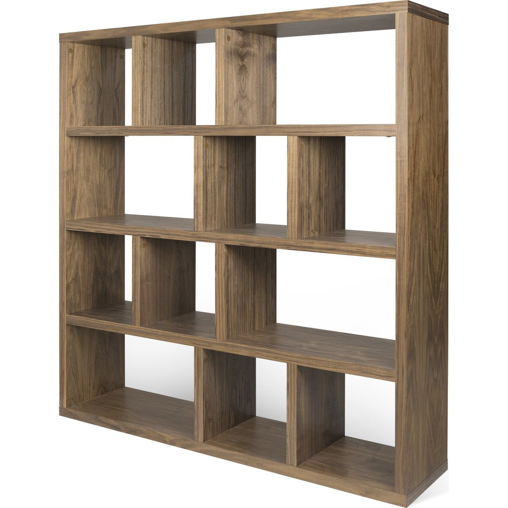 TemaHome Berlin 4 Levels Bookcase 150 Cm | Walnut 118999-BERLIN4150