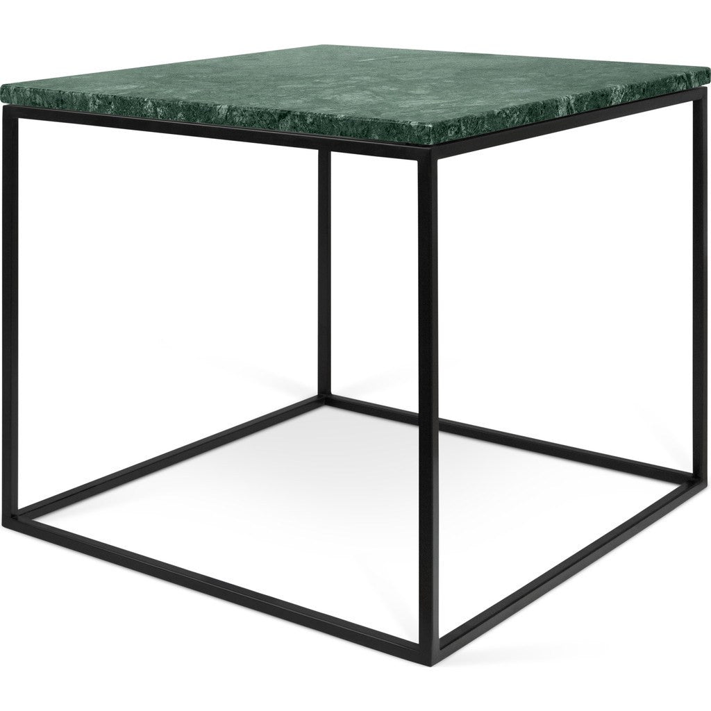 Gleam White Marble Black Coffee Table By Temahome: TemaHome Gleam 20x20 Marble Side Table Green Marble