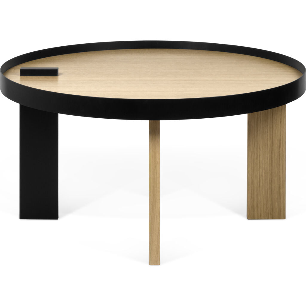Temahome Bruno Coffee Table | Oak/Pure Black