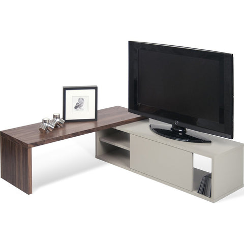TemaHome Move Tv Table | Walnut / Matte Grey 164044-MOVE