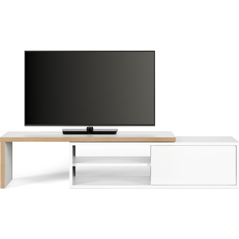 TemaHome Move Tv Table | Pure White & Plywood 164044-MOVE