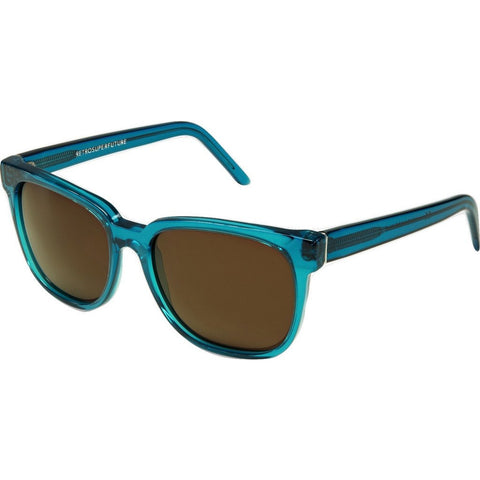 RetroSuperFuture People Sunglasses | Crystal Turquoise 561